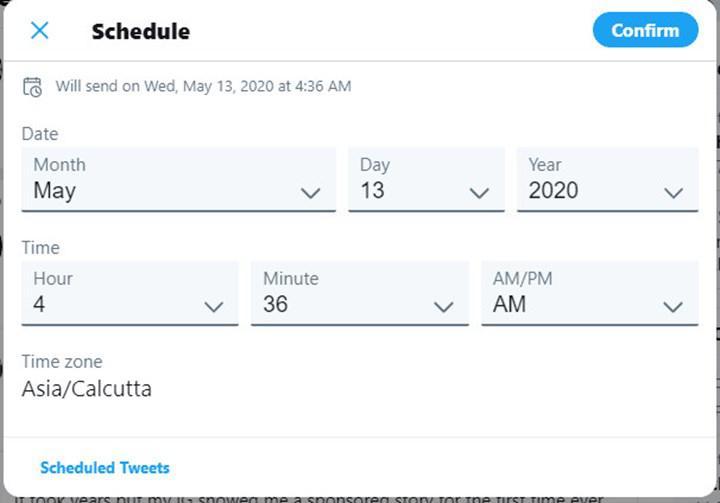 Twitter'a tweet zamanlama özelliği sonunda geliyor