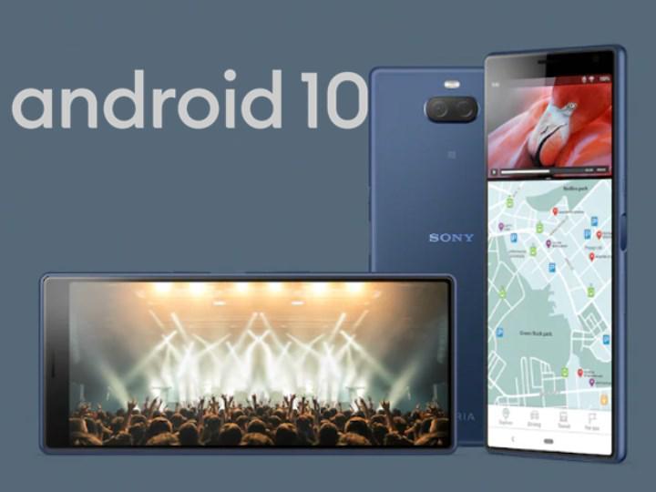 Sony Xperia 10 ve 10 Plus sonunda Android 10 güncellemesi aldı