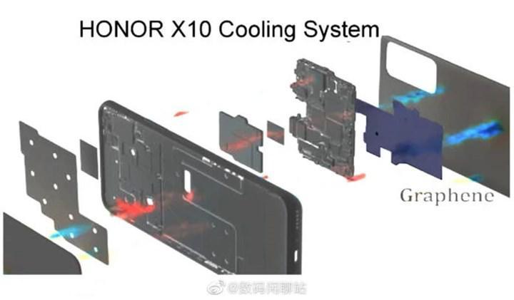 Honor X10 grafen soğutma sistemi ile gelecek