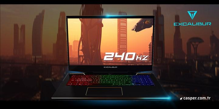 240 Hz ekranlı Casper Excalibur G900 ön satışa sunuldu