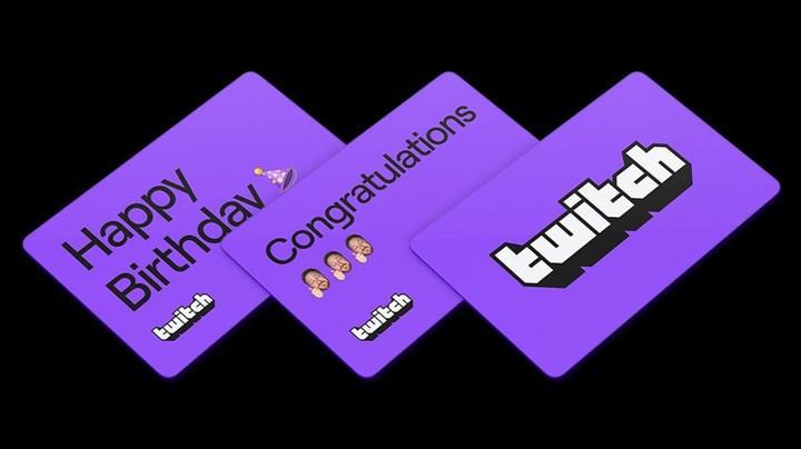 Twitch dijital hediye kartı satışlarına başladı