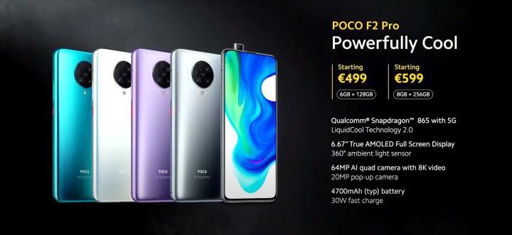 poco f2 pro fiyatı ve özellikleri