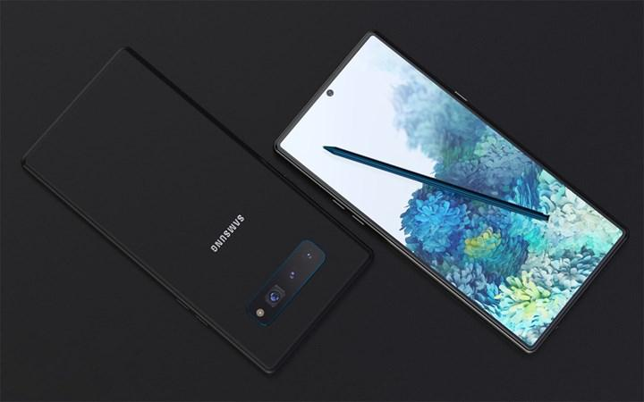 Samsung Galaxy Note 20 serisi 120Hz ekranla gelecek