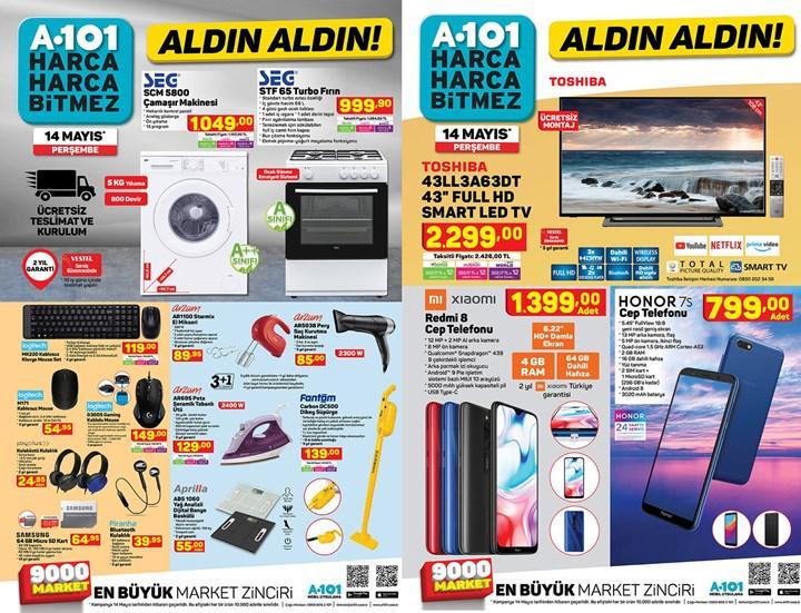 A101 marketlerde oldukça uygun fiyata Logitech ürünleri ve Redmi 8 var