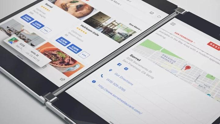 Surface Duo'nun yeni sızıntıları birçok özelliği gözler önüne seriyor