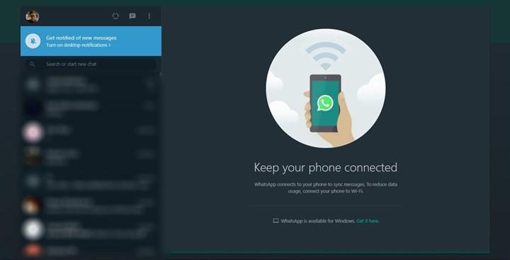 WhatsApp Web'de karanlık mod nasıl aktive edilir?