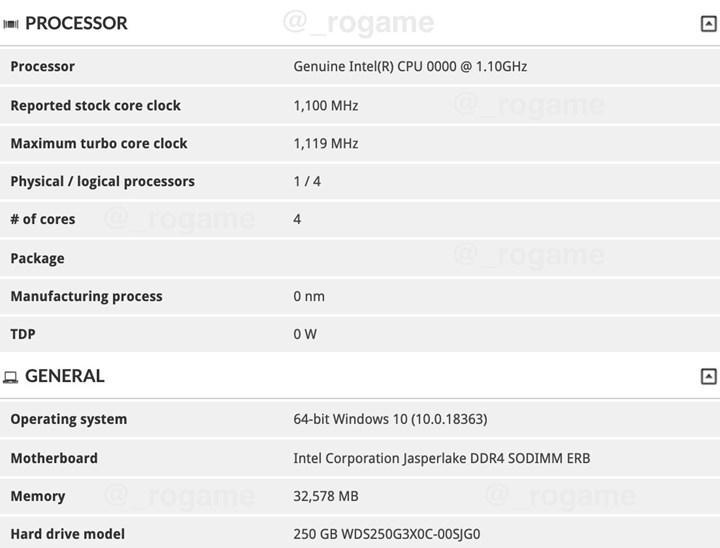 Intel düşük segment için Jasper Lake işlemciler hazırlıyor