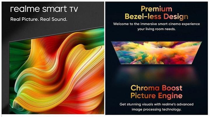 Realme TV'nin ilk görüntüleri ve özellikleri ortaya çıktı