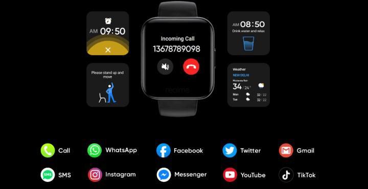 realme watch özellikleri ve tasarımı ortaya çıktı