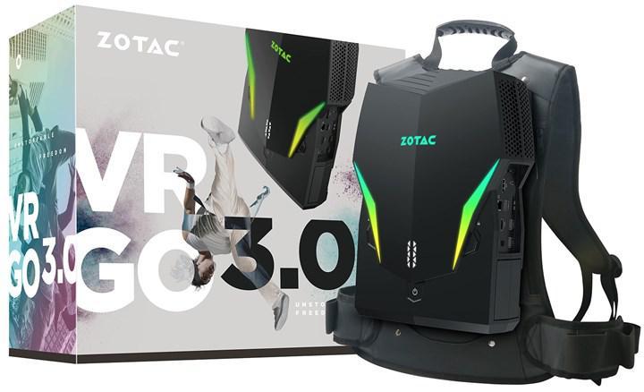 ZOTAC yeni VR sırt bilgisayarını duyurdu
