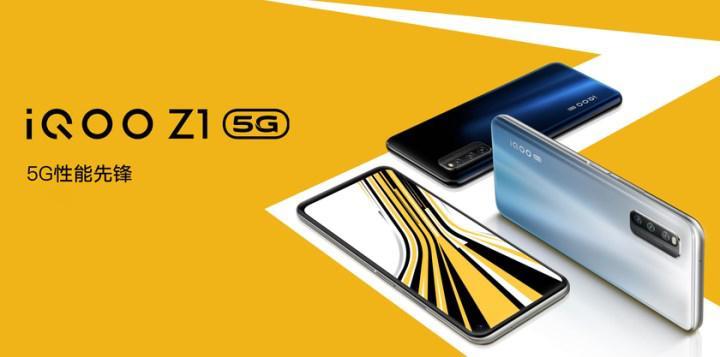 iQOO Z1 tanıtıldı: Dimensity 1000+ yonga seti, 144 Hz ekran, 48 MP kamera