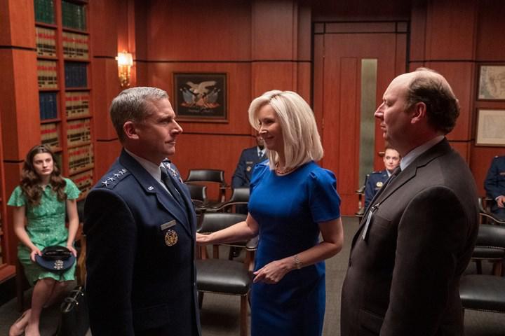 Netflix'in merakla beklenen komedisi Space Force'tan yeni fragman
