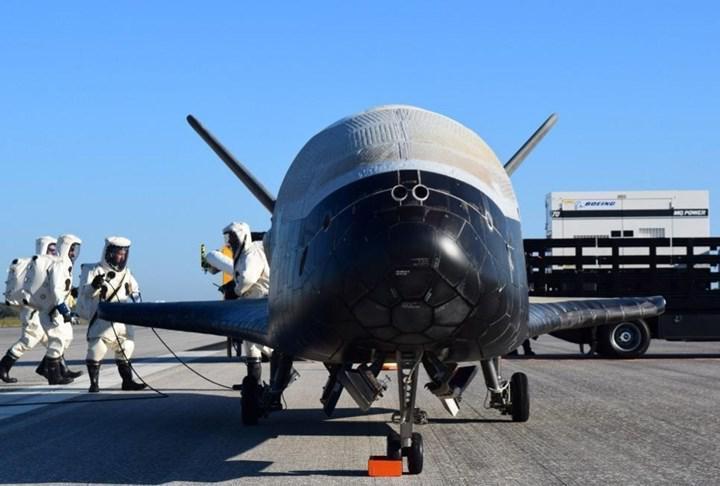 X37-B uzay uçağı, Dünya'ya güneş enerjisi göndermek için tasarlanan cihazı yörüngeye taşıdı