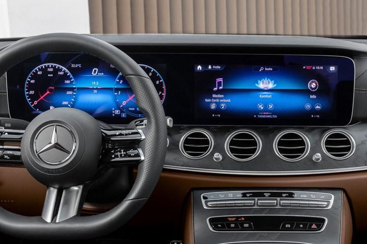 Makyajlı E-Serisi Coupe ve Cabrio'dan yeni teaser geldi