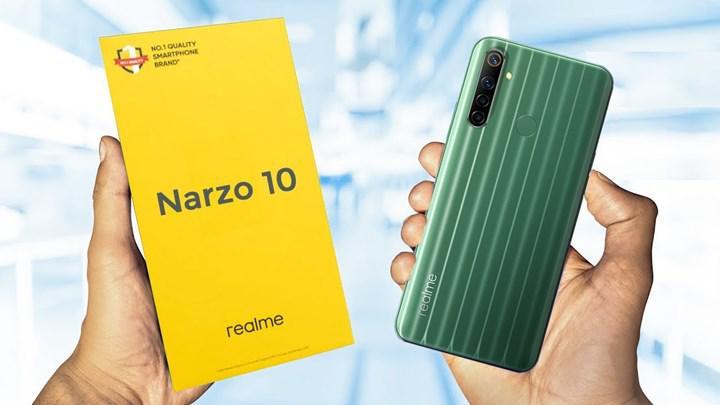 Realme Narzo 10'un ilk partisi 2 dakikada tükendi