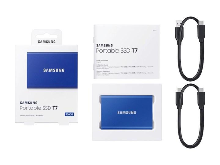 Samsung T7 Portable SSD satışa çıktı
