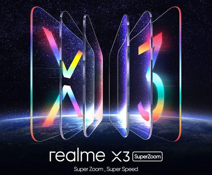 Realme X3 SuperZoom'un tanıtım tarihi resmen açıklandı