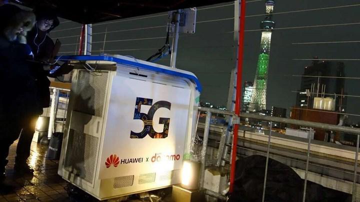 Huawei yıl sonunda 800 bin 5G baz istasyonu hedefliyor