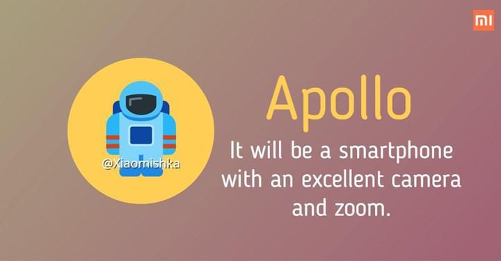 Xiaomi Apollo, 2020'nin en iyi kameralı telefonu olabilir