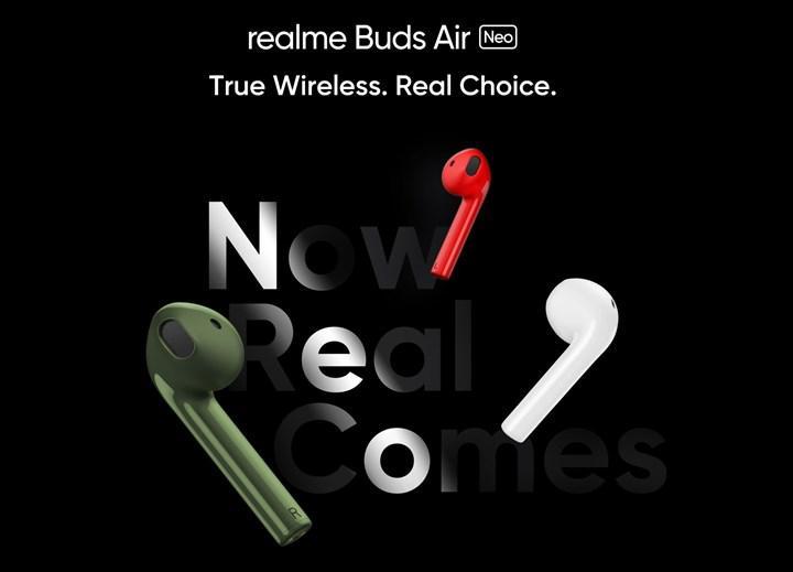 Realme Buds Air Neo'nun özellikleri açıklandı