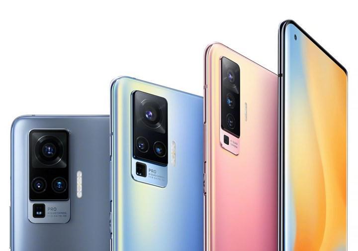 Vivo X50 ve X50 Pro'nun renk seçenekleri ortaya çıktı