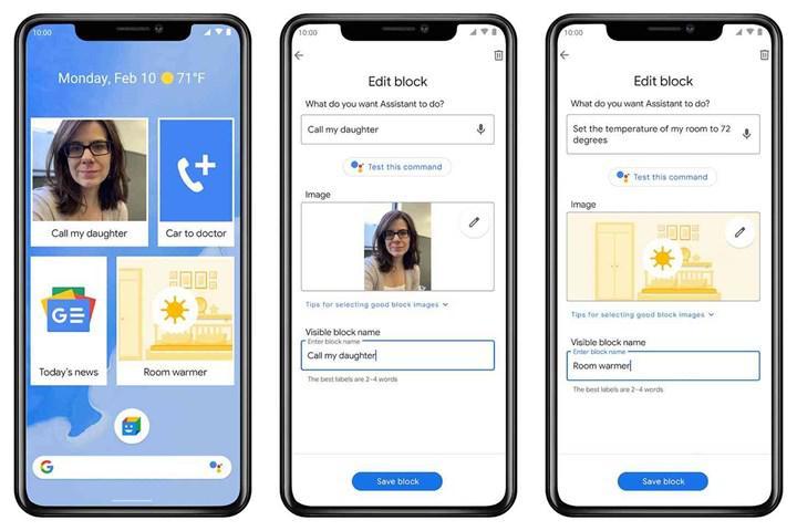 Google Action Blocks uygulaması Android platformunda indirmeye sunuldu