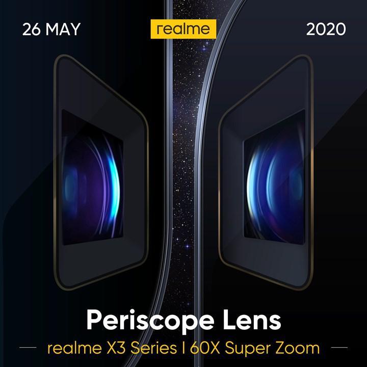 Realme X3 SuperZoom, Snapdragon 855+ ile gelecek!