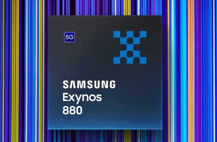 Exynos 880 yonga seti duyuruldu: Orta sınıf Samsung telefonlara 5G ve yapay zeka desteği
