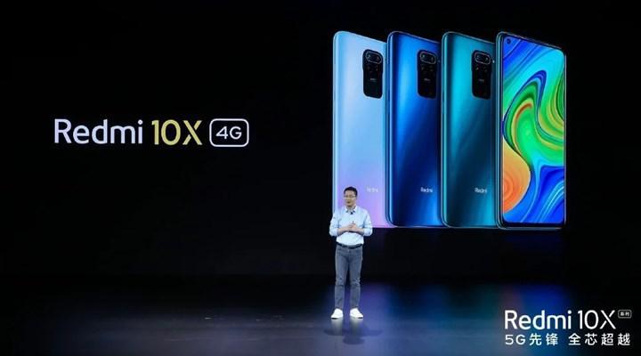 Redmi 10X 4G uygun fiyat etiketiyle duyuruldu
