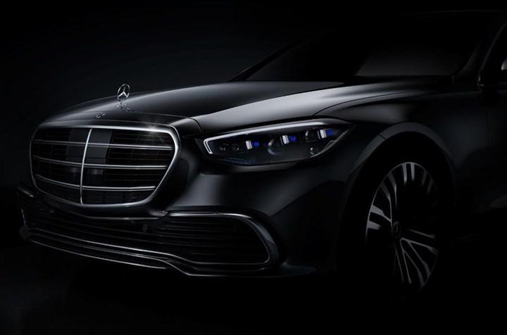 Yeni Mercedes-Benz S-Serisi'nin ilk resmi görüntüsü yayınlandı