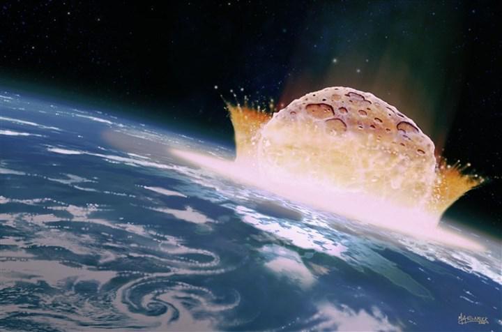 Araştırmaya göre dinozorları yok eden göktaşı, Dünya'ya neredeyse en ölümcül açıyla çarpmış