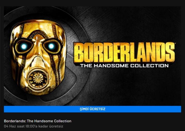 Epic'in bu haftaki ücretsiz oyunu: Borderlands