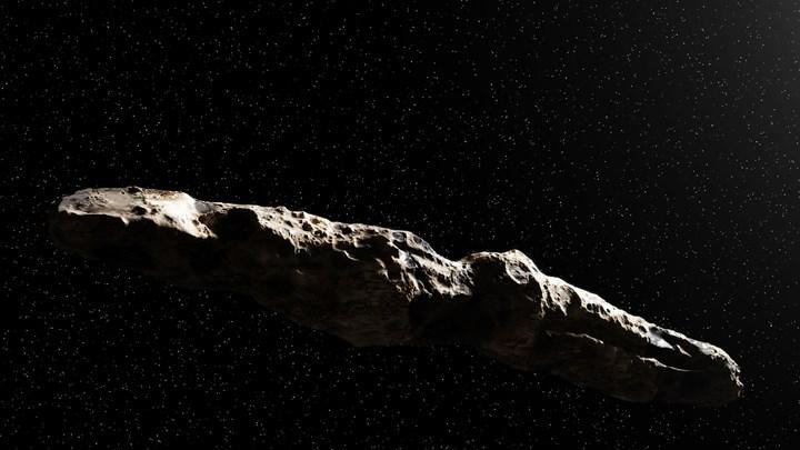 İlk yıldızlararası misafirimiz Oumuamua, bir hidrojen buzdağı olabilir