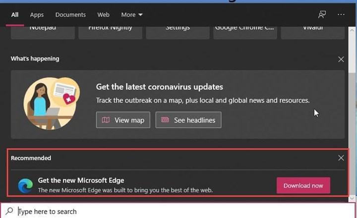 Microsoft, Windows kullanıcılarını Edge tarayıcısına zorlamaya devam ediyor