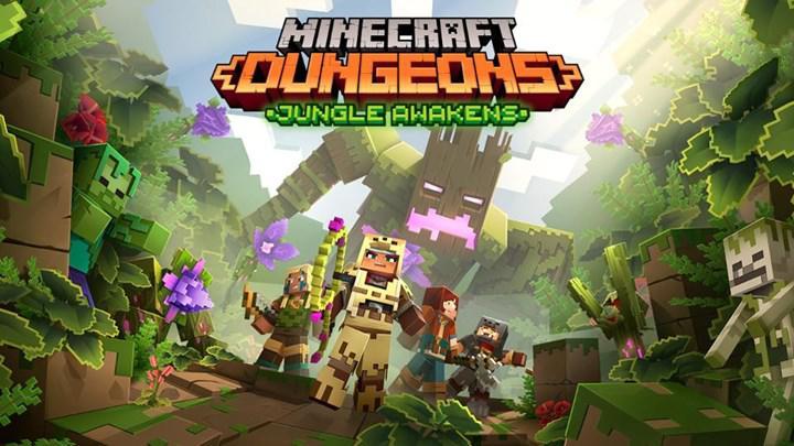 Minecraft Dungeons'un ilk DLC'si temmuz ayında yayınlanıyor