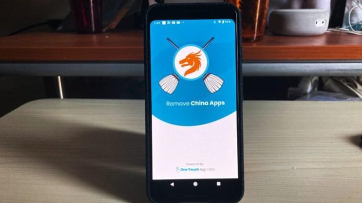 Telefonlardan Çin yapımı uygulamaları silen bir uygulama viral oldu