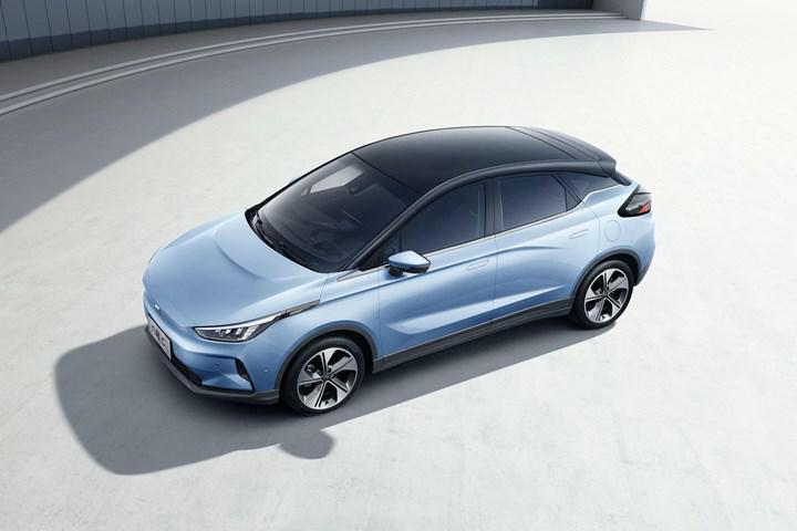 Çinli Geely'nin elektrikli araç markası ikinci modelini tanıttı: Geometry C