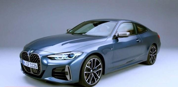 Yeni BMW 4 Serisi Coupe'nin tasarımı ortaya çıktı