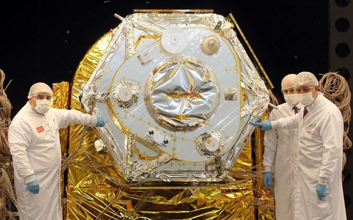 İmece uydusunun montajı tamamlandı