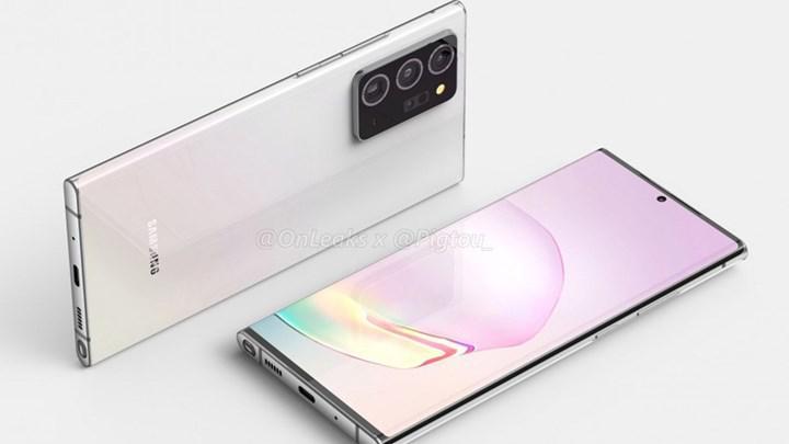 Galaxy Note 20 ve Galaxy Fold 2 tanıtım tarihi sızdırıldı