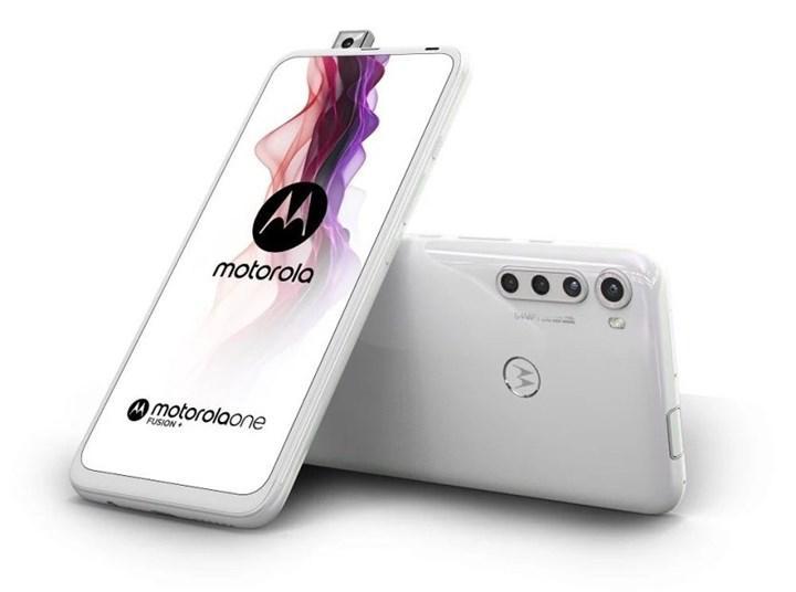 Mekanizmalı ön kameraya sahip Motorola One Fusion+ tanıtıldı