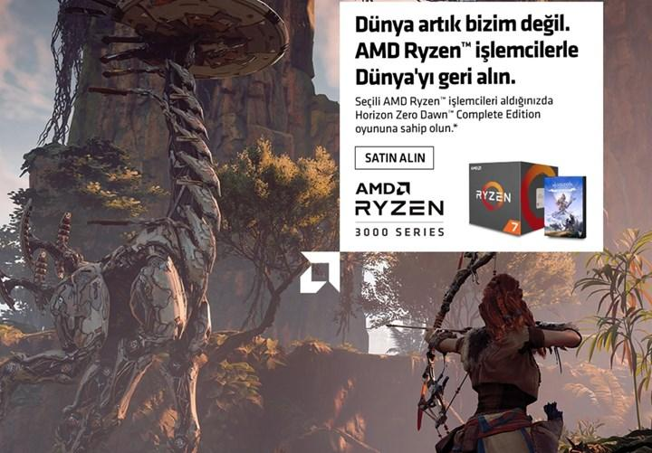 Ryzen işlemci alana ücretsiz Horizon Zero Dawn kampanyası
