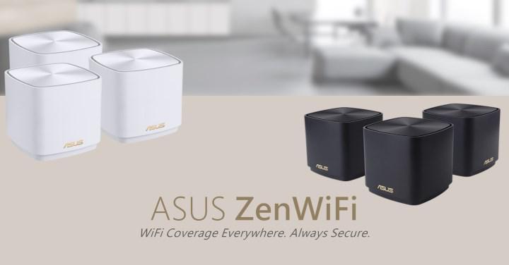 Asus tüm evi kapsayan ZenWiFi AX Mini (XD4) örgü ağını duyurdu