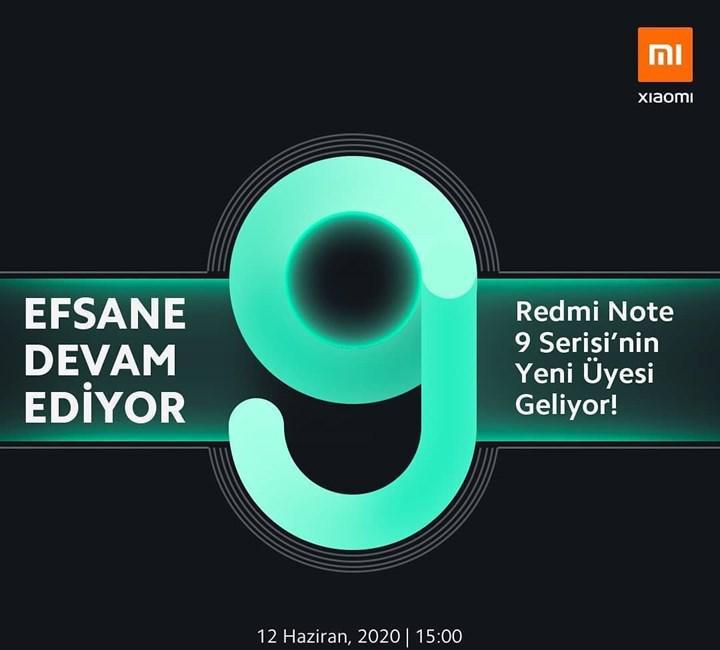 Redmi Note 9 Türkiye lansmanı canlı olarak DH'de