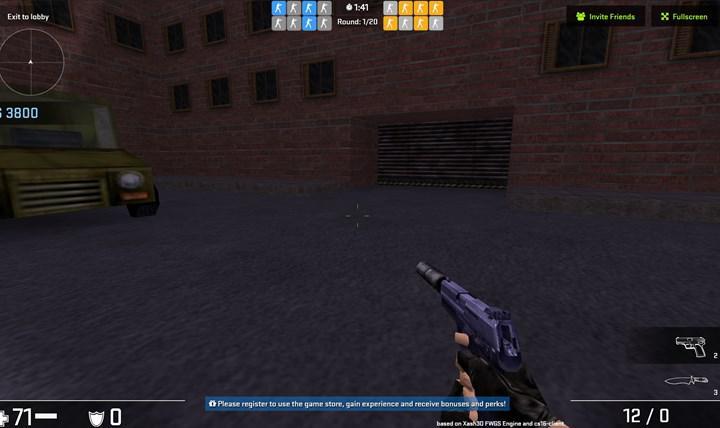 Tarayıcıdan Counter Strike 1.6 oynayın