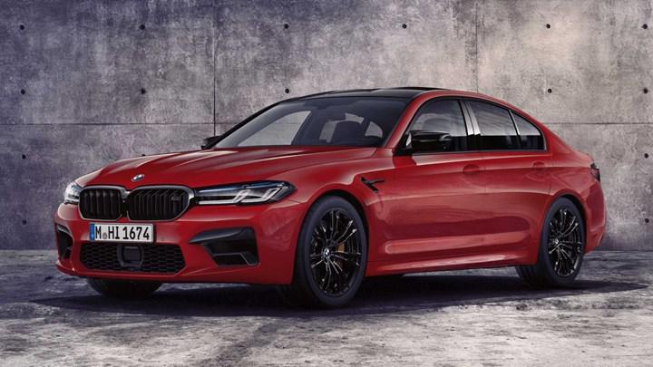 2020 BMW M5 yeni yüzü ve teknolojileriyle tanıtıldı