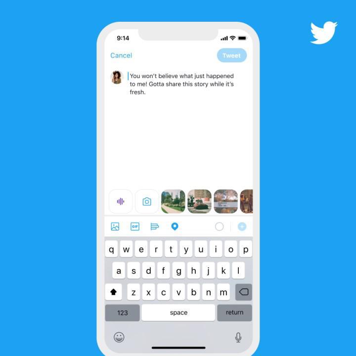 Tweetlere ses kaydı ekleme özelliği iOS için kullanıma sunuldu