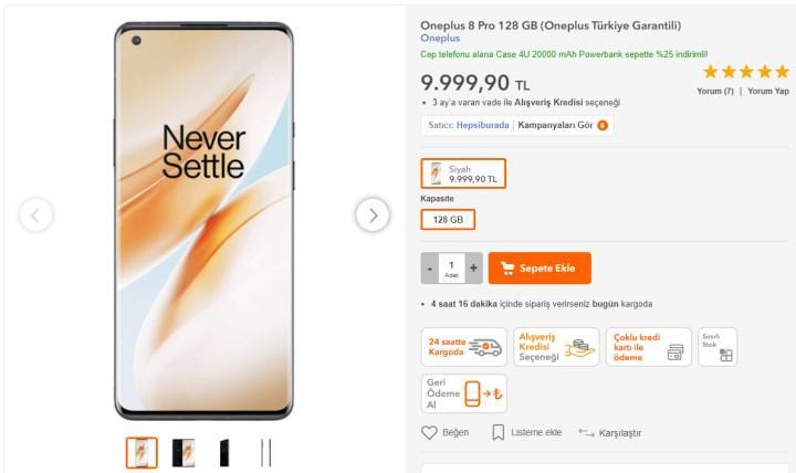 X-Ray kameralı OnePlus 8 Pro, Türkiye'de satışa sunuldu