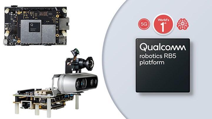 Qualcomm robotlar için en güçlü 5G çözümünü duyurdu