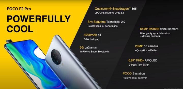 POCO F2 Pro Türkiye'de satışa sunuldu! İşte Türkiye fiyatı
